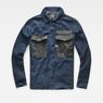 G-Star RAW® Type C Army Overshirt Dark blue flat front
