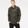 G-Star RAW® Type C Hybrid Padded Overshirt Green model front