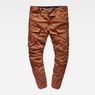 G-Star RAW® Rovic Zip 3D Tapered Pants Brown model front