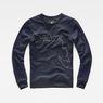 G-Star RAW® Oötim Sweater Dark blue model front