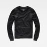 G-Star RAW® Motac Sweater Black flat front