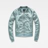 G-Star RAW® Dalcie Bomber Sweater Light blue flat front