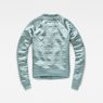 G-Star RAW® Dalcie Bomber Sweater Light blue flat back