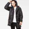 G-Star RAW® Whistler Hooded Parka Black model front