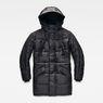 G-Star RAW® Whistler Hooded Parka Black flat front