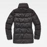 G-Star RAW® Whistler Slim Coat Black flat back