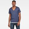 G-Star RAW® Base Heather T-Shirt 2-Pack Medium blue model front