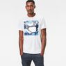 G-Star RAW® Hifton T-Shirt White model front