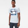G-Star RAW® Hifton T-Shirt Light blue model front