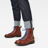 G-Star RAW® Roofer Boots Marrón both shoes