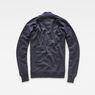 G-Star RAW® Korpaz Bomber Sweater Dark blue flat back