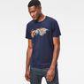 G-Star RAW® Tolban T-Shirt Medium blue model front