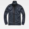G-Star RAW® Empral Zip Sweater Bleu moyen flat front