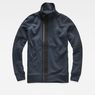 G-Star RAW® Empral Zip Sweater Medium blue flat front