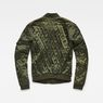 G-Star RAW® Quilted Bomber Green model side