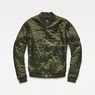 G-Star RAW® Quilted Bomber Green model front