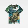G-Star RAW® Aloha X25 Print T-Shirt    Multi color model front