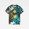 G-Star RAW® Aloha X25 Print T-Shirt    Multi color model side