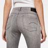 G-Star RAW® 3301 Deconstructed Mid-Waist Skinny Jeans Medium blue