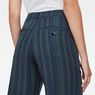 G-Star RAW® Bronson High-Waist Wide-Leg Chino Dunkelblau model back zoom