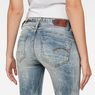 G-Star RAW® Midge Saddle Mid-Waist Straight Jeans Light blue