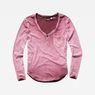 G-Star RAW® Adisyon Straight Granddad T-Shirt Purple model front