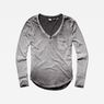 G-Star RAW® Adisyon Straight Granddad T-Shirt Grey model front