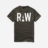 G-Star RAW® Heck T-Shirt Grey model front