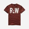 G-Star RAW® Heck T-Shirt Red model front