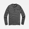 G-Star RAW® Classic Granddad Pocket T-Shirt Grey model front