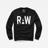 G-Star RAW® Jexx Sweater Black model front