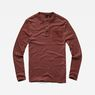G-Star RAW® Classic Granddad Pocket T-Shirt Red model front