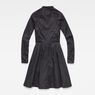 G-Star RAW® Core Flare Dress Black flat back