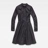 G-Star RAW® Core Flare Dress Black flat front