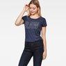 G-Star RAW® Cirst Straight T-Shirt Dark blue model front