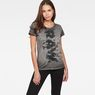 G-Star RAW® Trozera Straight T-Shirt Grey model front