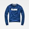 G-Star RAW® Core Boyfriend Sweater Dark blue flat front
