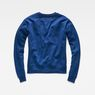 G-Star RAW® Core Boyfriend Sweater Dark blue flat back