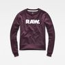 G-Star RAW® Core Boyfriend Sweater Purple flat front
