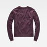 G-Star RAW® Core Boyfriend Sweater Purple flat back