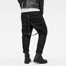 G-Star RAW® D-Staq Tapered Braces Chino Black model back
