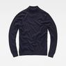 G-Star RAW® Core Mock Turtle Knit Dunkelblau flat front