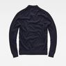 G-Star RAW® Core Mock Turtle Knit Dunkelblau flat back