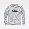 G-Star RAW® Hodin Sweater Grey flat front