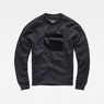 G-Star RAW® Stor Sweater Black flat front