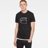 G-Star RAW® Monthon T-Shirt Black model front