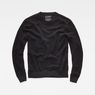 G-Star RAW® RC Core Structure Knit Black flat front