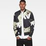 G-Star RAW® Rackam Sports Padded Bomber Black model front