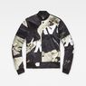 G-Star RAW® Rackam Sports Padded Bomber Black flat front