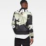 G-Star RAW® Rackam Sports Padded Bomber Black model back